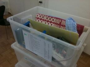 public work's archive box