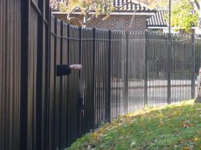 Fence bombing