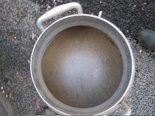Meat broth