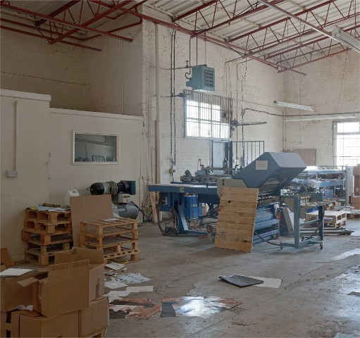 Finishing Factory in Queens Yard, Hackney Wick, E9